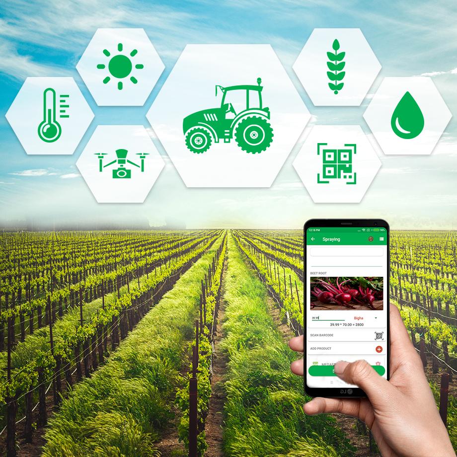 سنجش از دور و کشاورزی مدرن