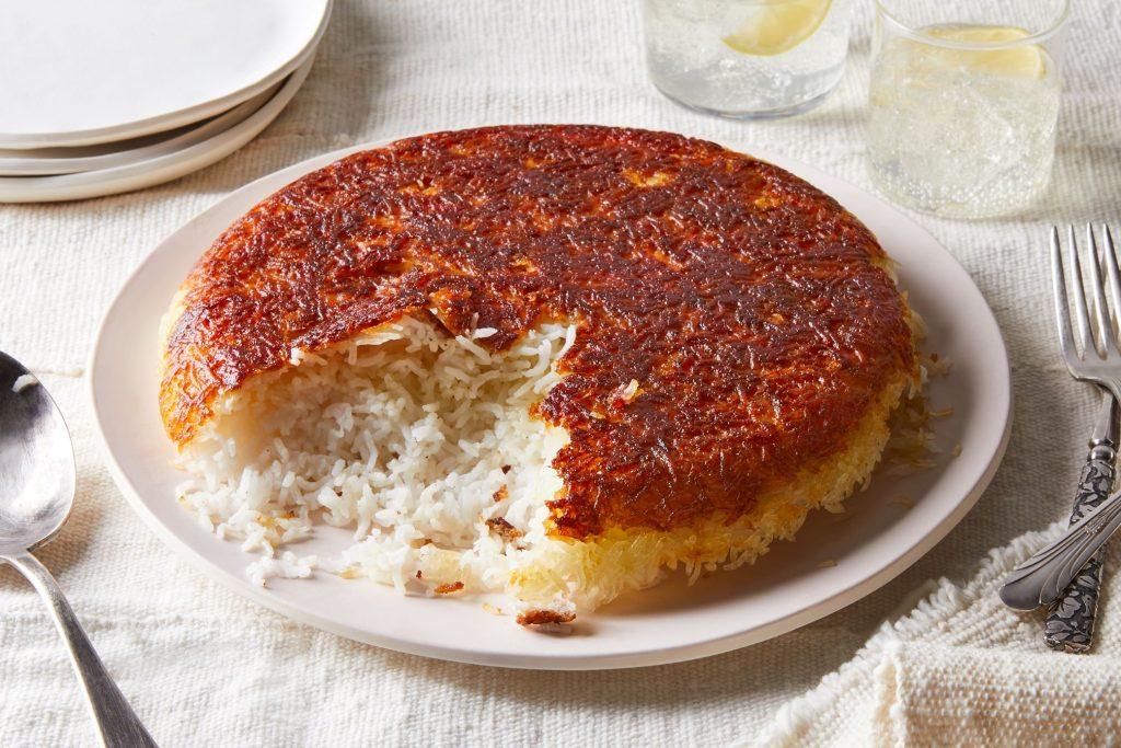 پخت برنج ایرانی