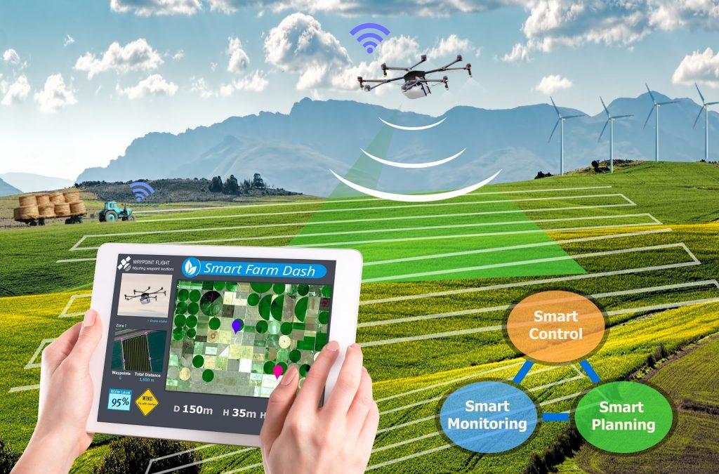کشاورزی مدرن و کشاورزی هوشمند
