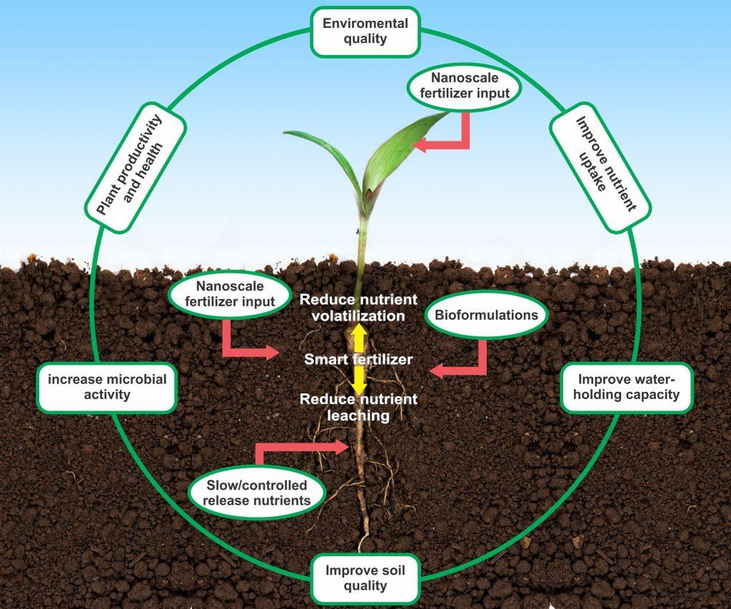 کاربرد نانو کود در کشاورزی نوین